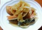 鮭と玉ねぎ*ヘルシーさっぱり漬け