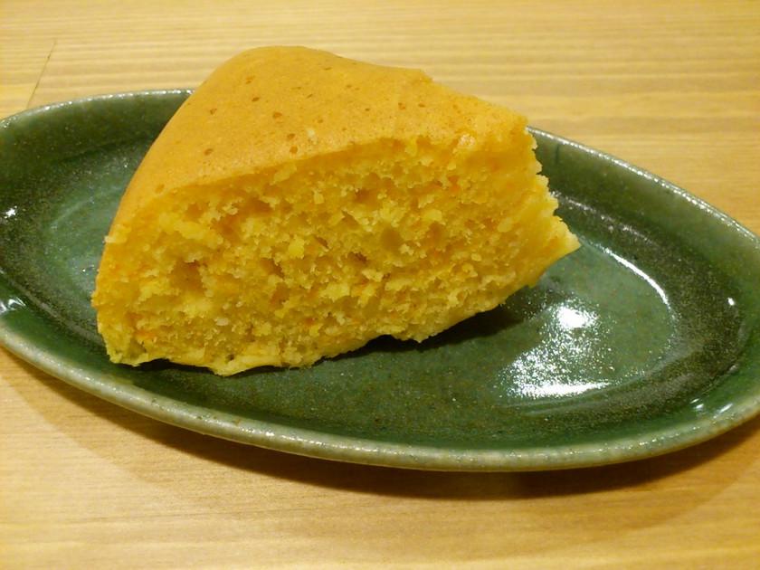 炊飯器で簡単☆もちもち食感にんじんケーキ