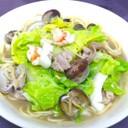 春キャベツとあさり貝のスープスパゲッテイ
