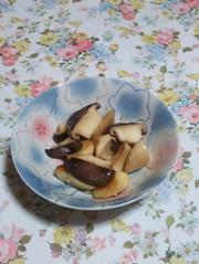 エリンギのニンニク炒めの写真
