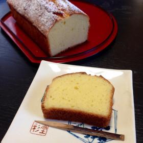 HM簡単☆和菓子屋の白あんパウンドケーキ