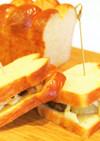がっつりランチに照り焼きステーキサンド