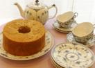 紅茶が香るシフォンケーキ