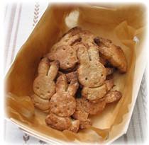 薬膳家レシピ:ゴマ風味のおからクッキー