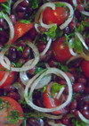 うずら豆のプロバンスサラダ