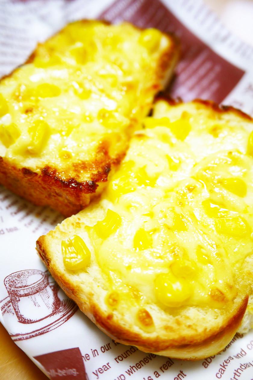 朝食&ランチに♪コーンマヨピザトースト