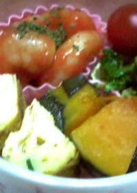超簡単!お弁当にレンジでエビチリ