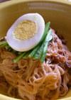 ピピンネンニョン(韓国風汁なし冷麺)