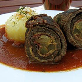 ロラーデン*ドイツ風牛肉ロールの煮込み