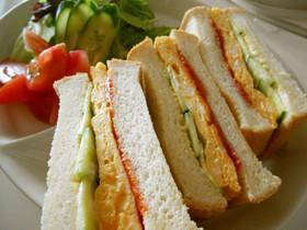 うち流☆玉子サンドイッチ(写真付き)