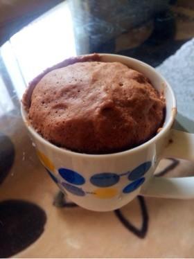ココア蒸しパン