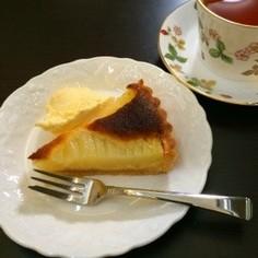 洋梨 or 白桃のタルト♡