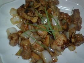 中華風!鶏肉と玉ねぎ炒め物