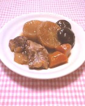 トロトロ豚軟骨の煮物@活力鍋