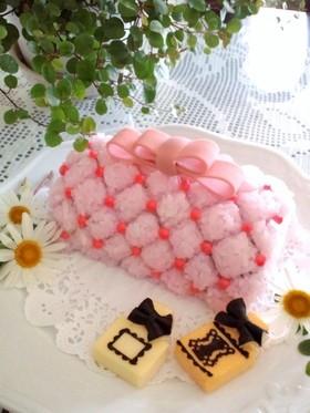 母の日♡マトラッセ♡デコ寿司ケーキ