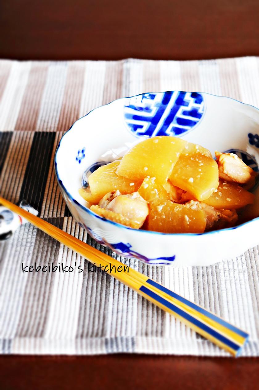 醤油麹de大根と鶏肉の煮物