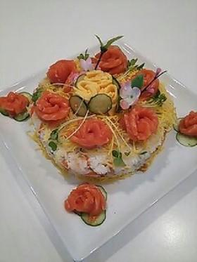 ちらし寿司  ケーキ  おもてなし