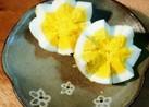 ゆで卵の飾り切り