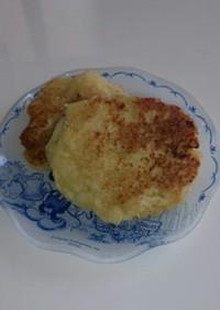 豆腐バナナホットケーキ