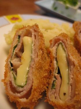 豚肉のチーズ巻き