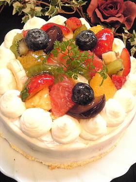 +.・;☆*:宝石箱ケーキ:☆*・.+*