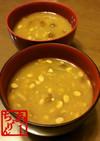【簡単】なめこと納豆のお味噌汁