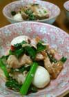 茹で豚と中華クラゲの和え物