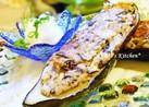 豆腐・ひじき・切干大根の茄子カップ焼き