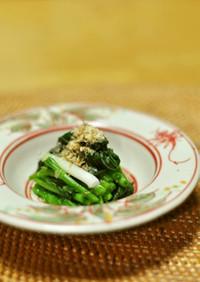 ほんのり甘い❤春の味❤アズキ菜のおひたし