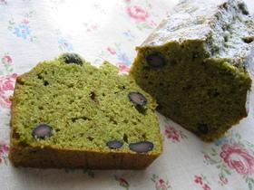 和なおやつ 抹茶のパウンドケーキ