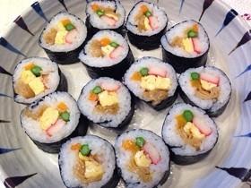 我が家の定番 かんぴょう入り巻き寿司