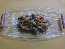 簡単!肉野菜炒め