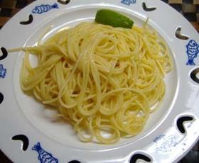 超シンプル究極のパスタ「バター&レモン」