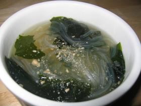 簡単!春雨スープ