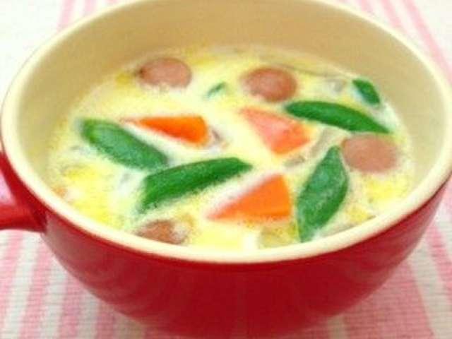 スナップ エンドウ スープ