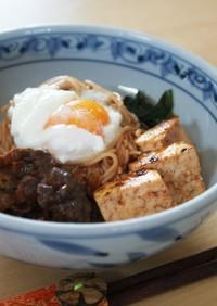 スキ焼きピビン麺