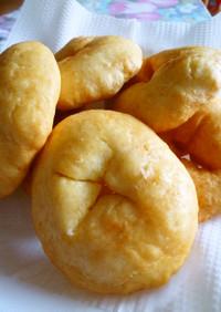 超簡単☆15分で揚げパン(卵・牛乳なし)