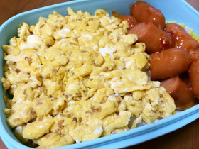 卵×オイスターソース 炒り卵