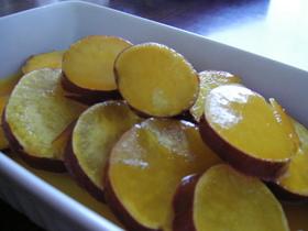 さつまいも・オレンジジュース煮♪