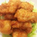 天ぷら粉で♪ささみのチーズフリッター