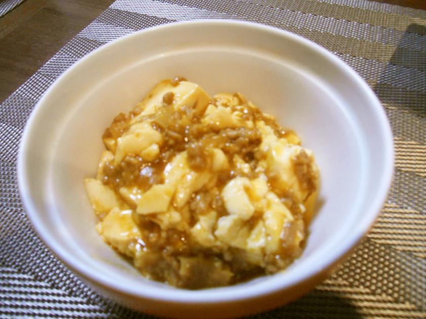 焼肉のタレで簡単・美味しい麻婆豆腐
