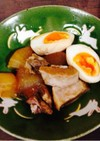 トロトロ、ルクルーゼで大根と豚バラ煮込み
