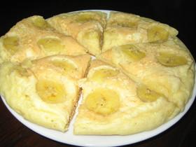 バナナの香りがたまらないパンケーキ