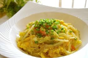 【ダイエット】カット野菜で簡単中華丼♪