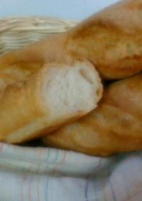 オーブン発酵で本格派!フランスパン