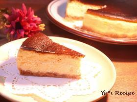 絶品★濃厚なベイクドチーズケーキ