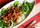 豚しゃぶしゃぶ肉のソテーde水菜サラダ