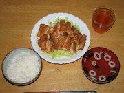 鶏のケチャップ煮の写真