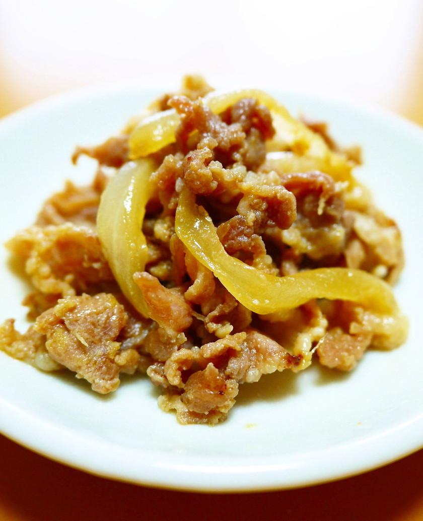 お弁当冷凍作り置き!豚肉玉ねぎの生姜焼き