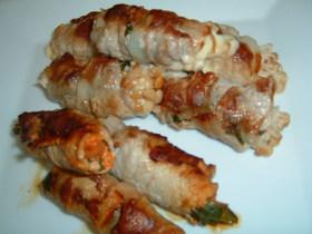 簡単!!豚肉の野菜巻き焼き